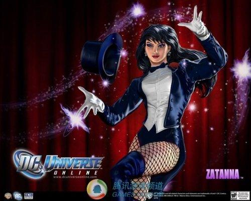 DC漫画英雄OL新角色放出 美女首席魔法师