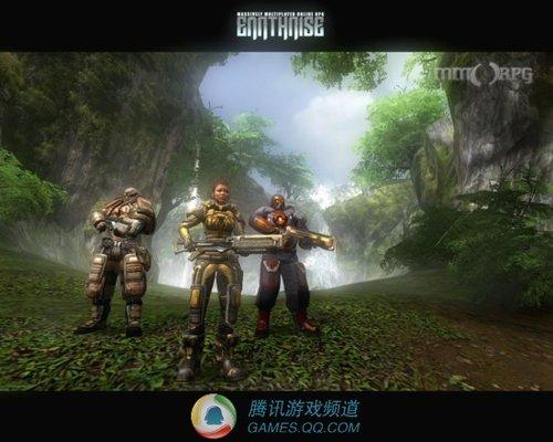 欧洲科幻射击网游《地升》最新游戏截图