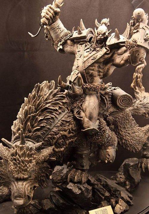 台北电玩展魔兽世界限量版精品周边拍卖
