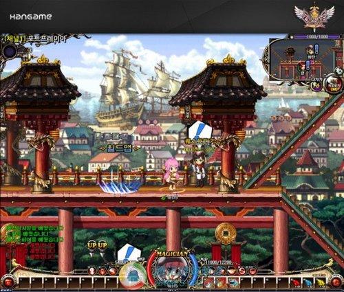 2d横版格斗网游新作《granage》最新画面