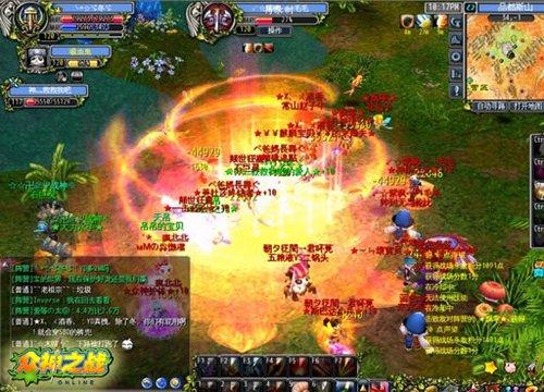 开春暖身战《众神之战》战场火爆打响