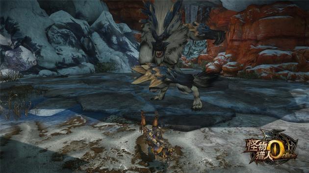 《怪物猎人OL》曝原创新怪剑极狼 3月17日登场