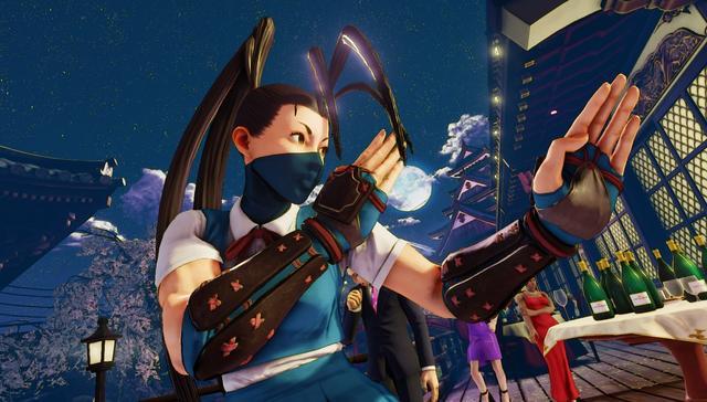 《街头霸王5》迎来女忍者伊吹