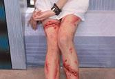割伤妆另类血腥玛丽