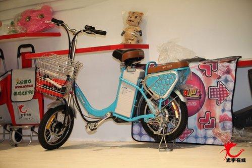 科斯特自行车成光宇展台大热点