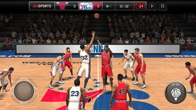 《NBA LIVE》手游今日全平台上线!NBA篮球盛宴等你亲临!