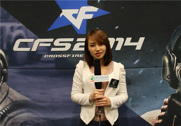 CFS美女解说立蓁专访:比起外貌性格更像蔡依林