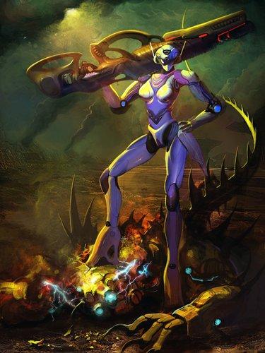 《星空传奇》女性机甲 征服太空不是梦