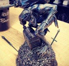 暴雪圣诞礼物:暗黑3哥布林雕像