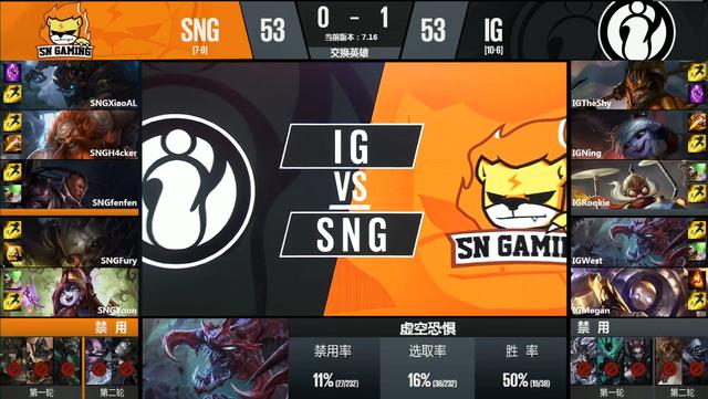 季后赛首日综述:IG轻取SNG NB完胜SS