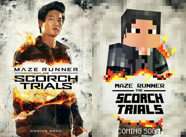 移动迷宫2与MC合作 公布像素人风格海报