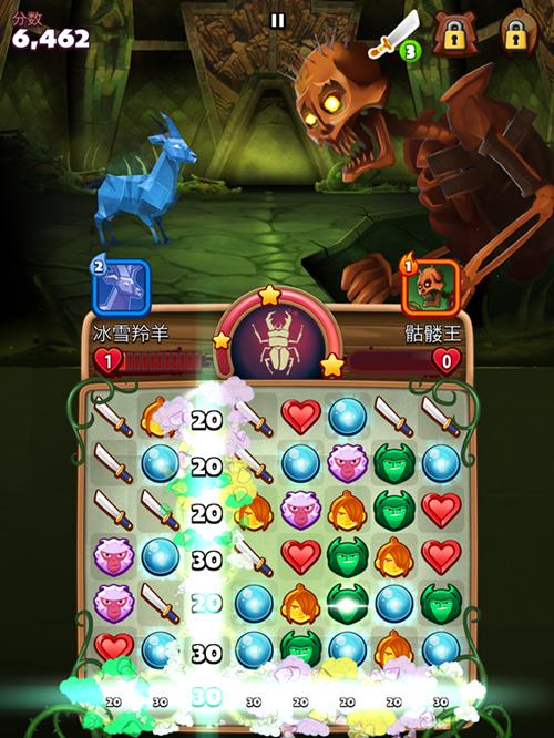 《魔弦传说》手游评测:少年久保的魔幻消除之旅
