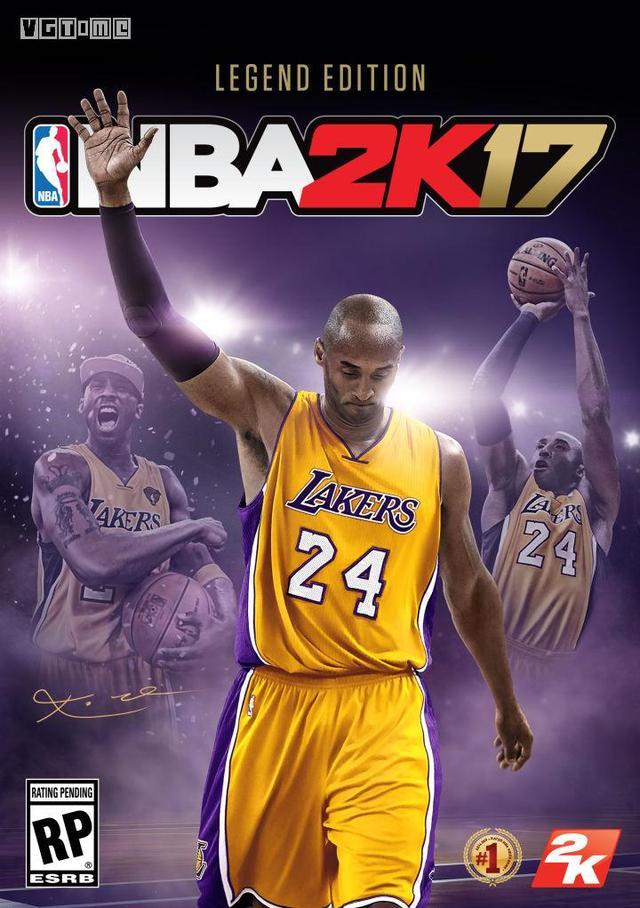 致敬传奇 科比将担任《NBA 2K17》封面人物