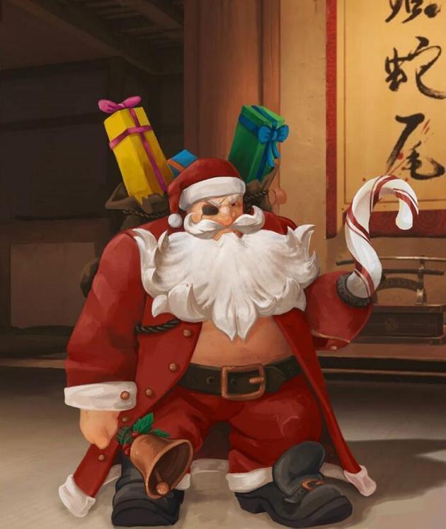 《守望先锋》圣诞节将出四张地图,吉祥物竟然是托比昂?