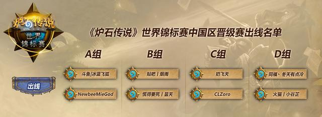 炉石传说世锦赛中国晋级赛落幕 决赛28日开启