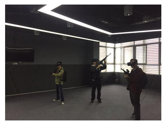 青柠影咖引入顶尖技术 做亚洲最大多人对战VR体验馆