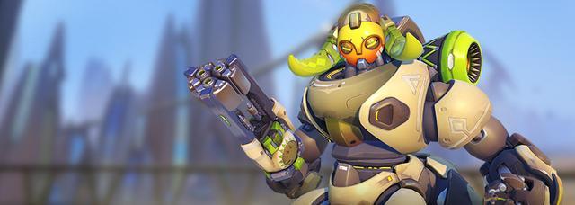 《守望先锋》公布新英雄奥丽莎:强力重装辅助