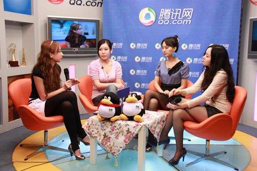 腾讯游戏频道专访美女魔术团不靠谱
