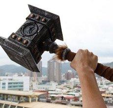 魔兽毁灭之锤开箱分享 金属版重达8公斤