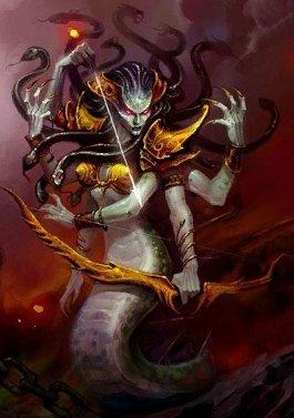 魔兽世界女BOSS:盘牙女王——瓦斯琪