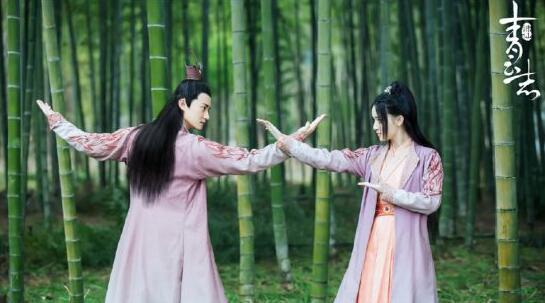 李洵与燕红在焚香谷过招