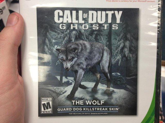 传《使命召唤 幽灵》新增军犬皮肤 售价18元