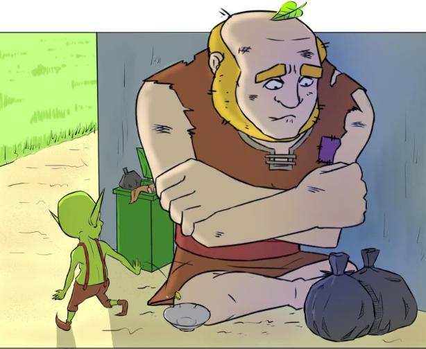 皇室战争漫画:进击的巨人
