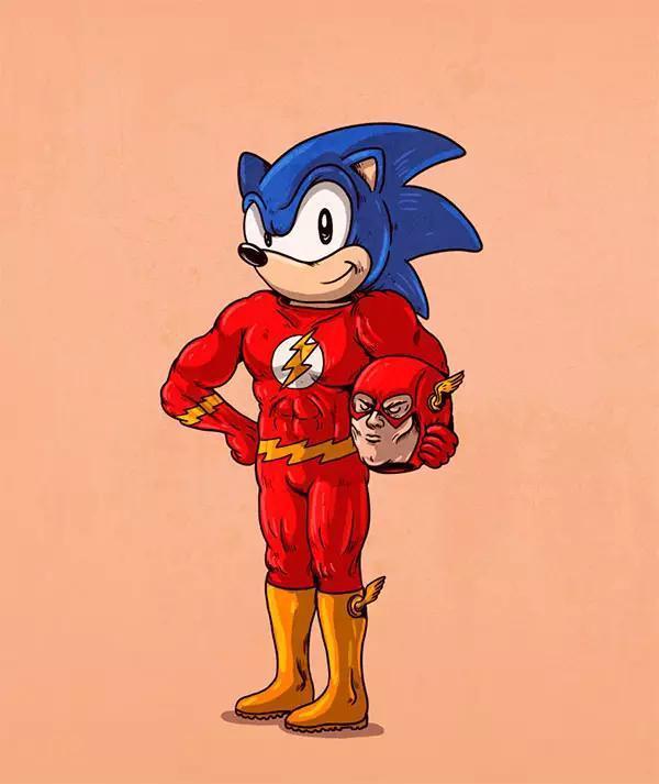 你熟悉的游戏动漫人物,其实都是穿着戏服的演员.