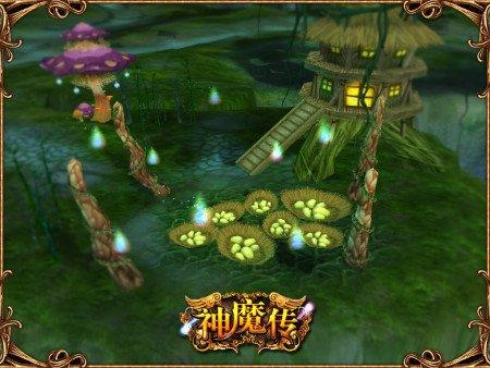 国产3D《神魔传》公布 玩家可扮演BOSS