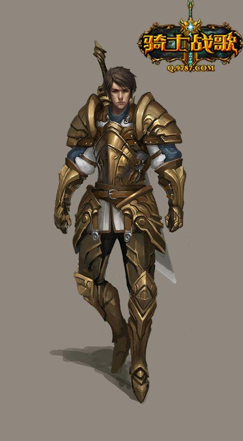 《骑士战歌》全新英雄吉尔加美什来袭