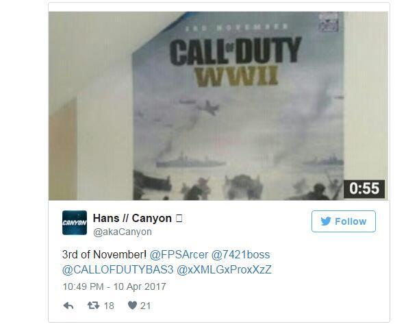 《使命召唤14》发售日泄漏 DLC依旧先登陆PS4平台