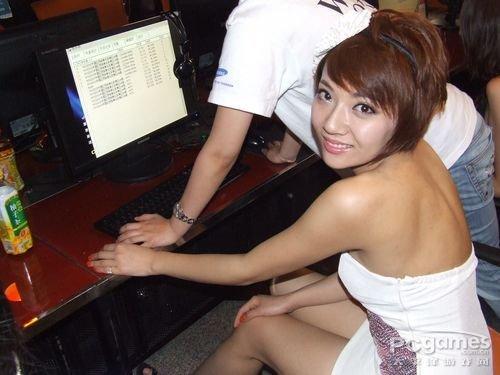 WCG2010北京赛区 现场美女图集