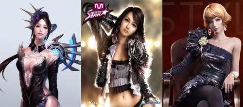 韩国美女最多网游排行