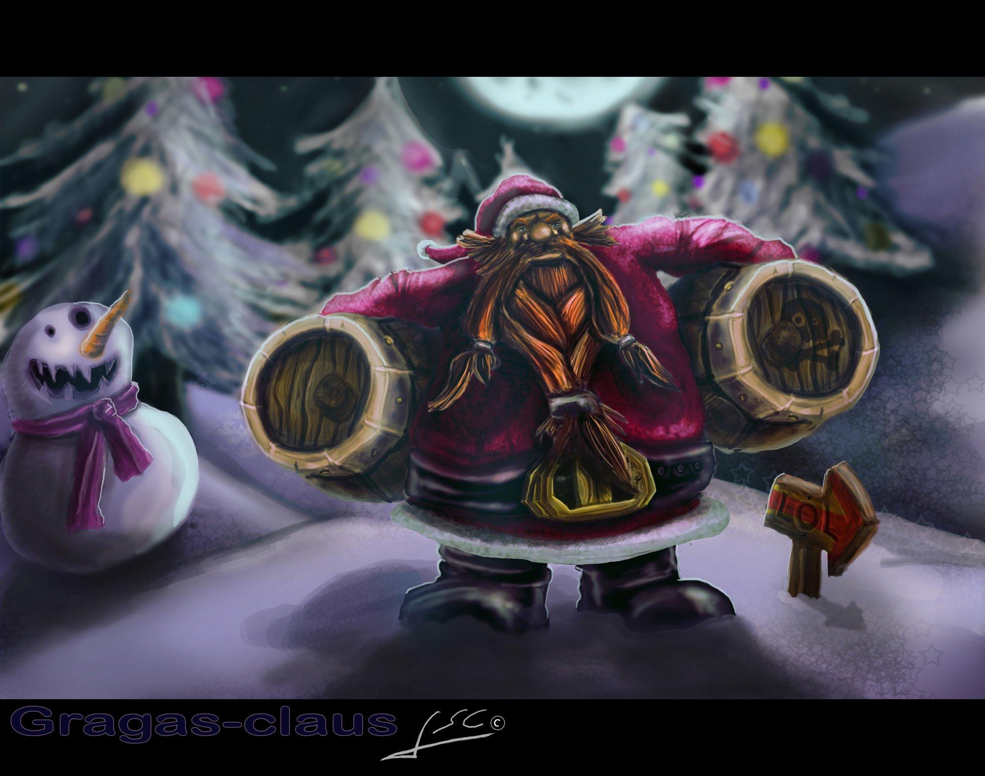 圣诞老人 古拉加斯_冰原核弹古拉加斯