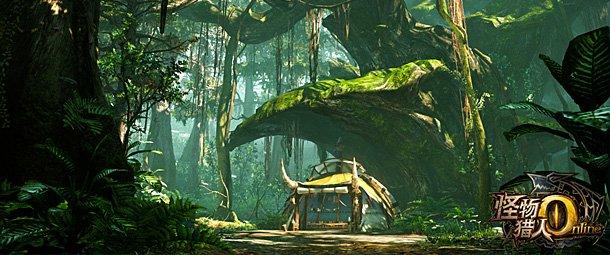《怪物猎人OL》全新场景曝光 神秘茂林隐士之森