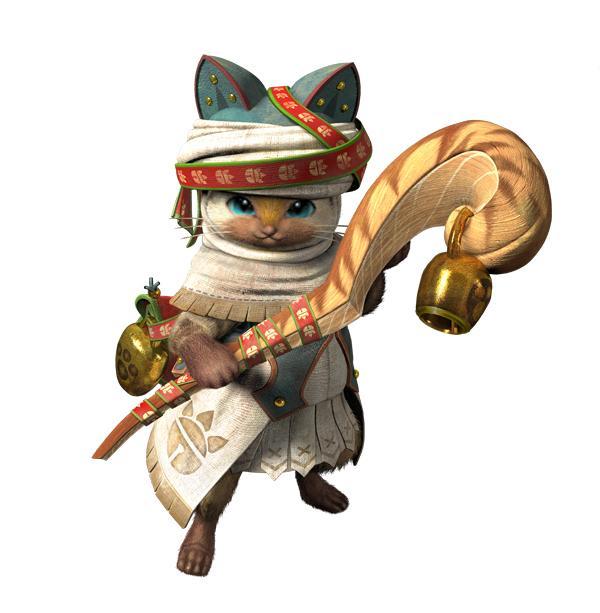 zooskool兽x人-怪物猎人 猫 tgs