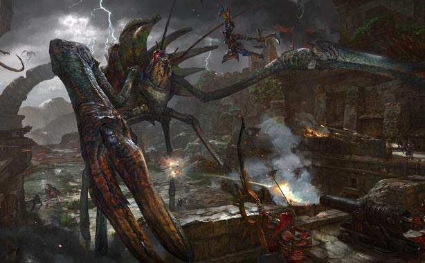 《怪物猎人OL》本月迎更新 新怪物新武器登场