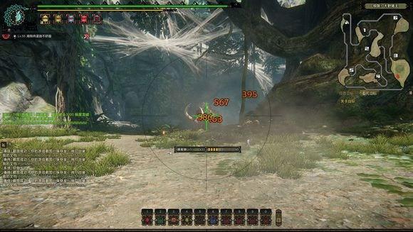 站的远输出高 怪物猎人OL弩炮最佳射程测试