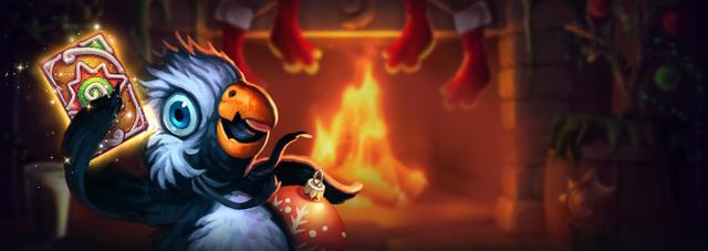 《炉石传说》冬幕节活动开启 完成任务得卡背和卡包