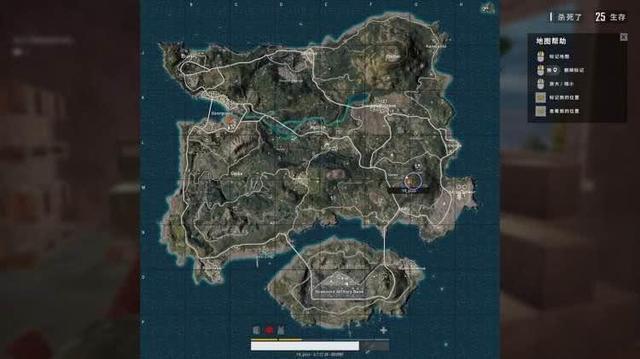 绝地求生:最恐怖的决赛圈 这么小的安全区竟然能藏32个人?