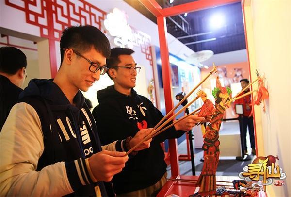 《寻仙》手游携手皮影大师亮相TGC2017 全民期待年度大版本