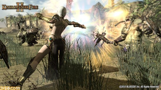 X360上MMO动作游戏《炽焰帝国2》视频