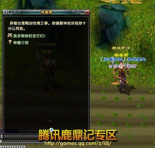 任务NPC杨喜雨