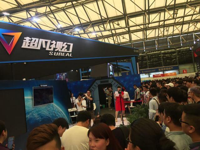 VR成ChinaJoy最大亮点 超凡视幻VR竞技现场火爆