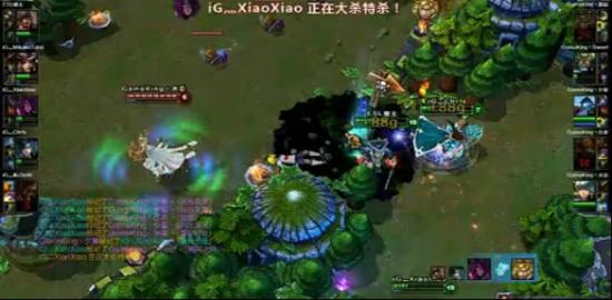 WGT英雄联盟线上预选赛战报C组iG对GameK