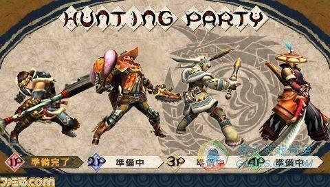 《怪物猎人P3》体验版下载日期公布