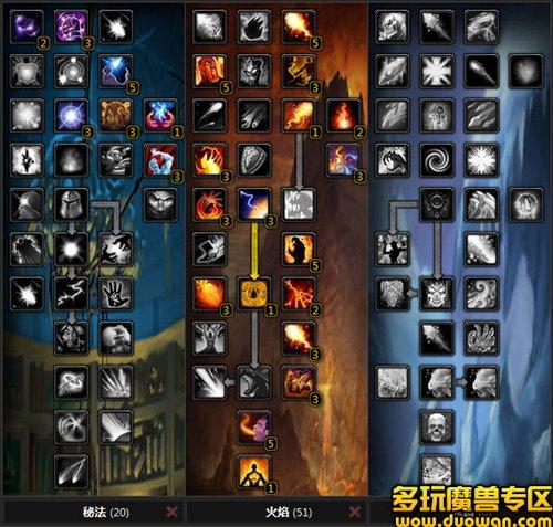 巫妖王之怒:奥术系火系法师天赋装备分析