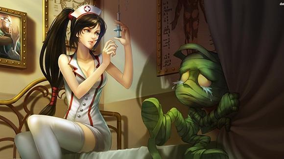 最后一个18禁!游戏中的经典护士形象