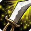 神圣之剑+60%攻击速度,唯一被动: 每第4次攻击时额外造成100点魔法伤害。唯一主动:你的攻击无法被闪避,并且获得30点护甲穿透,持续8秒。