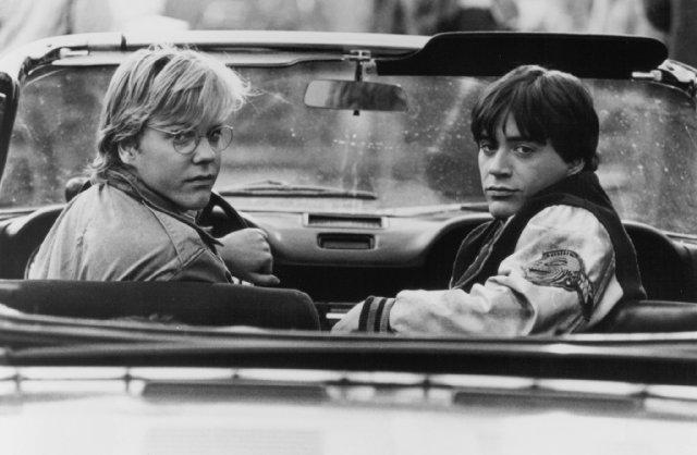 年轻的包小强和年轻的钢铁侠,二人在1988年的一部叫做《1969》的电影中合作